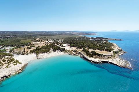 Côte bleue Camping Marseille