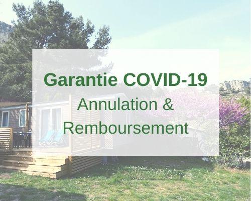 Vacances au camping : Garantie annulation et remboursement COVID-19