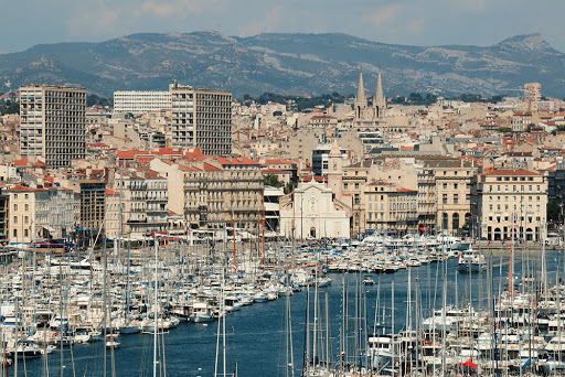 Le vieux port de Marseille